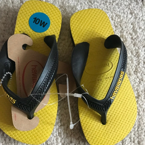 5336fd1a870db4 Toddler flip flop size 10 havaianas